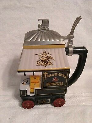 $ CDN45.34 • Buy Anheuser Busch 1998 Lidded Stein  Early Delivery Days  Members Only CB8 -03931
