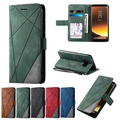 $ CDN8.27 • Buy Hybrid Leather Wallet Case Flip Cover For Samsung Galaxy S20 S10e S9 S8+ Note10+