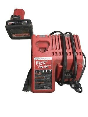 $ CDN67.50 • Buy Miwlaukee 12v Battery And Charger. M12/m18 Charger And XC Battery