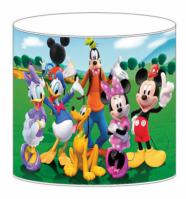 Mickey Mouse Club Childrens Lampshades Ceiling Light Table Lamp Bedding Curtains • 27.99£