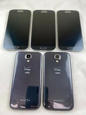 $ CDN263.56 • Buy 5 Samsung SCH-i545 Galaxy S4 Verizon/Unlocked Phone Lot  GOOD