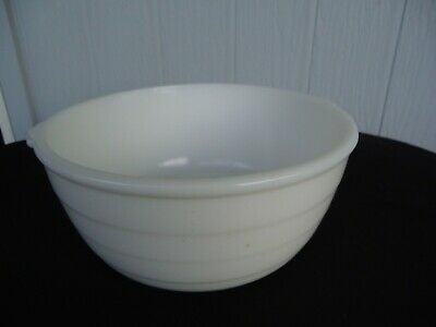 $16.19 • Buy Vintage General Electric Art Deco Whale Mixing Bowl Mixer White Milk Glass Ge