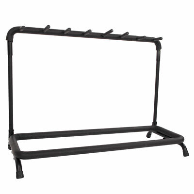 $ CDN40.76 • Buy 7-Slot Multiple Guitar Bass Stand Holder Stage Folding Rack For Electric /Flame