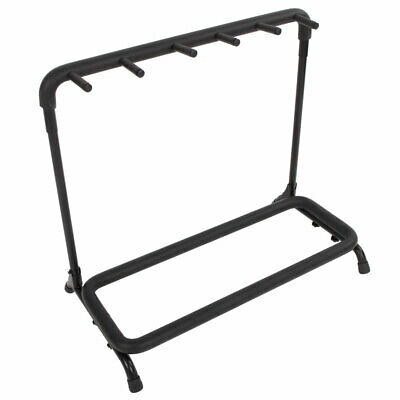 $ CDN36.48 • Buy 5-Slot Multiple Guitar Bass Stand Holder Stage Folding Rack For Electric /Flame