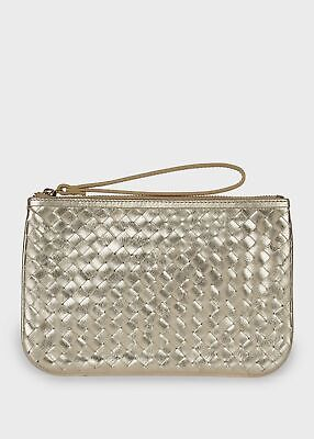 Hobbs Paisley Leather Clutch Bag   • 43£