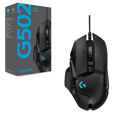 AU79.99 • Buy Logitech G502 HERO High Performance Gaming Mouse (Free Postage)