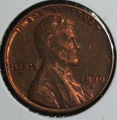 $0.99 • Buy 1960 D Lincoln Memorial 1C One Cent Coin - Small Date - 2