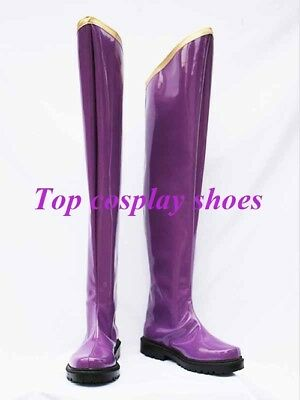 $60 • Buy Vocaloid Gakupo Scream Purple Cosplay Boots Shoes Custom-made