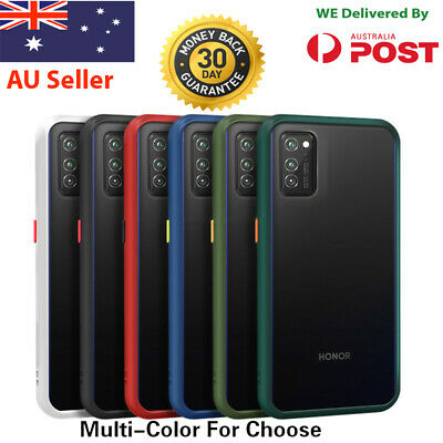 AU9.75 • Buy Huawei  P30 Y7 Pro Bumper Shockproof Case Clear Silicone Cover Protective TPU