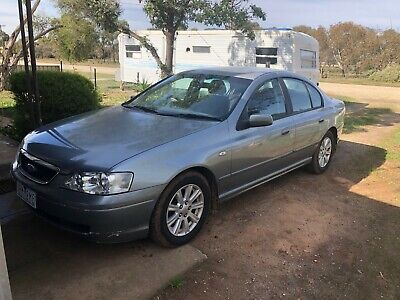 AU3500 • Buy Ford BA Falcon Futura 4sp Auto Sedan 2004 Silver