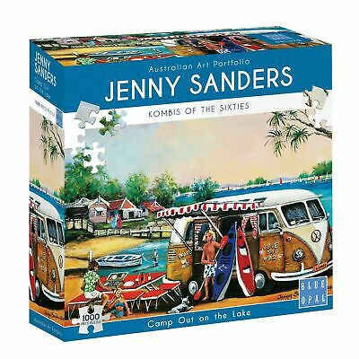 AU33.85 • Buy  Camp Out On The Lake Kombi Combi 1000 Puzzle Jigsaw By Blue Opal Jenny Sanders
