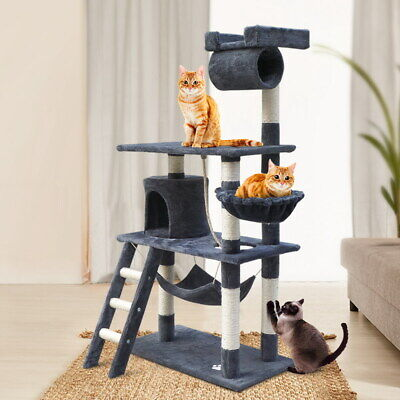 AU73.90 • Buy I.Pet Large Cat Tree Scratching Post Condo Scratcher Tower Play House Furniture