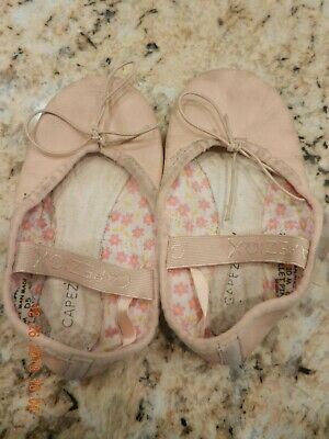 $7.99 • Buy Capezio Girl's Pink Leather Ballet Shoes, Size 10