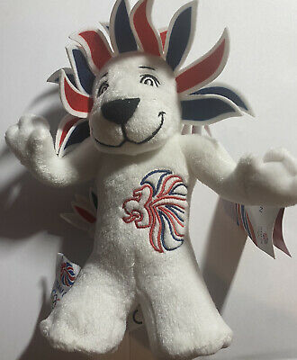 London 2012 Olympics Team GB Lion Mascot Soft Toy  • 7.50£
