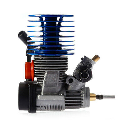 Nitro 21 Exhaust Engine 3.48CC 28000rpm Side Pull Starter For 1/10 1/8 RC Car • 68.45£