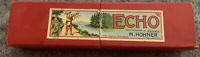 $49.99 • Buy Vintage M. Hohner Harmonica The Echo Harp Germany With Box. Hardly Ever Used It.