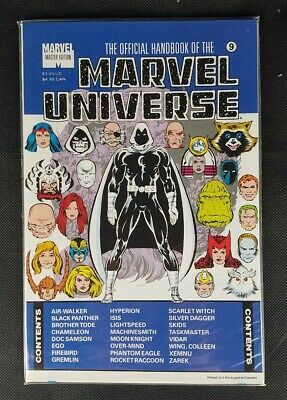 $7.99 • Buy Official Handbook Of The Marvel Universe Master Edition #9 (1991) NM - Opened