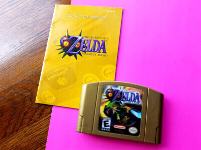 $ CDN109.61 • Buy Majora's Mask (N64) ~~ Game & Booklet ~~ Excellent Condition