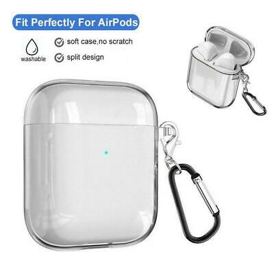 $ CDN3.55 • Buy For AirPods Charging Case Clear Crystal Case Bag TPU Cover Skin AirPod J3A2