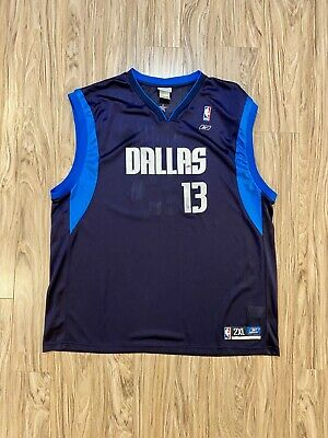 $ CDN40 • Buy Vintage Reebok Steve Nash Dallas Mavericks Jersey #13 NBA Authentic Sz 2XL