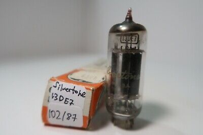$ CDN11.23 • Buy 13DE7 Silvertone Black Plate Tested HiFi Amp Audio Radio Valve Vacuum Tube