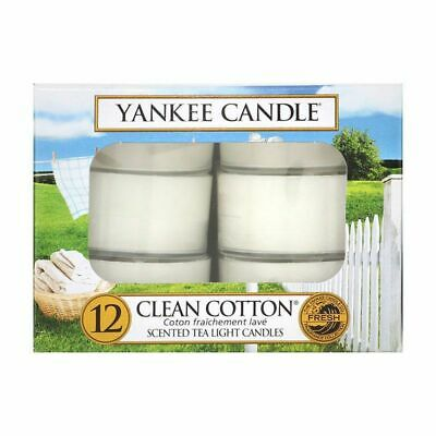 £5.95 • Buy Yankee Candle Clean Cotton Tea Lights