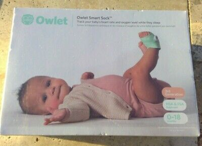 $ CDN277.76 • Buy 🌟🎈 Owlet Smart Sock Baby Heart Rate And Oxygen Level Monitor 3rd Generation 🌟