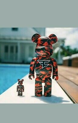 $299 • Buy Faze Clan Bear Brick Bearbrick Brand New In Hand
