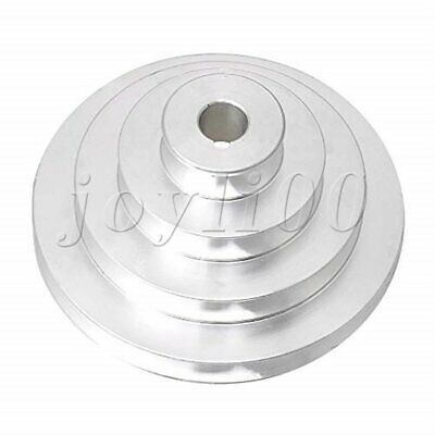 AU17.58 • Buy Aluminum 16mm Bore 4 Step A Type V-belt Belt Pulley For Motor Shaft Drive