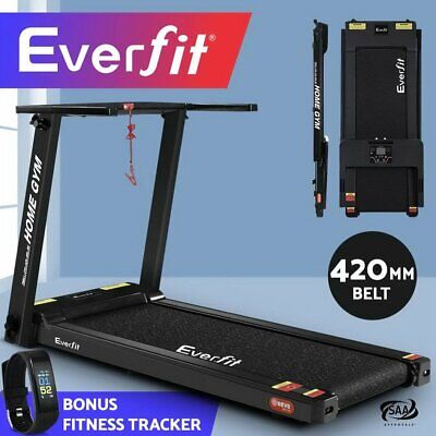 AU557.90 • Buy Everfit Compact Electric Treadmill Home Gym Exercise Machine Wit FITNESS TRACKER