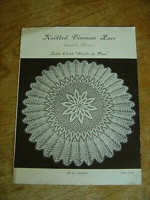 Lace Making Instructions Pattern Vintage • 3£