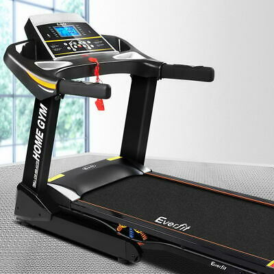 AU1010.90 • Buy Everfit Electric Treadmill Auto Incline Home Gym Exercise Machine Fitness 48cm