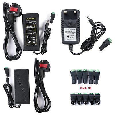 AC DC 12V 3A/5A Power Supply Adapter Charger Transformer For 3528/5050 LED Strip • 3.97£