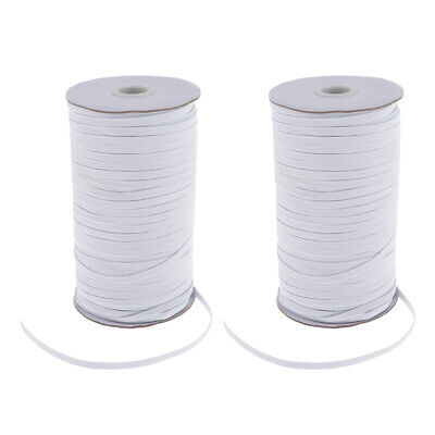 $ CDN39.52 • Buy 5mm Flat Elastic Band Sewing Knit Cord Rope Clothes Sewing Trim String DIY