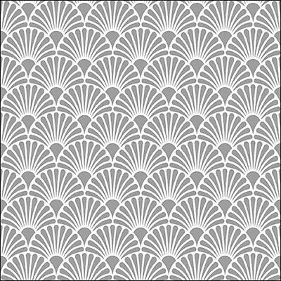 £2.50 • Buy 5 Paper Party Napkins For Decoupage Art Deco Silver Pack Of 5 3 Ply Serviettes