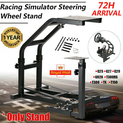 Racing Simulator Steering Wheel Stand Driving Gaming For G25 G29 G920 T300RS TX • 52.89£
