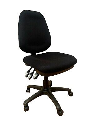 AU189 • Buy Office Chair Ergonomic High Back Task Chair Black Upholstery