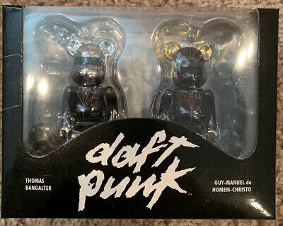 $299 • Buy BE@RBRICK 100% DAFT PUNK Random Access Memories Ver. Set Lot Of 2 Rare Bearbrick