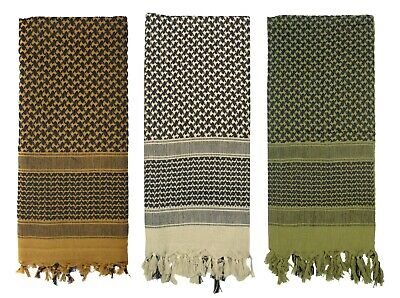 $10.99 • Buy Rothco LIGHTWEIGHT Shemagh Military Tactical Desert Scarf Cotton Head Wrap