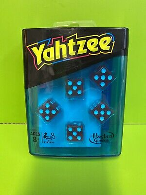 AU21.25 • Buy Yahtzee Neon Pop Dice Game Travel Container/Shaker 100 Score Cards!!! Hasbro