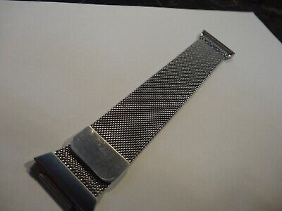 $ CDN9.99 • Buy For Fitbit Ionic Replacement Metal Milanese Loop Band Watch Strap Bracelet  SILV
