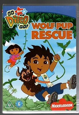 Go Diego Go - Wolf Pup Rescue (DVD, 2008) Very Good Condition • 1£