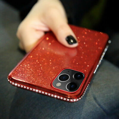 AU11.98 • Buy For IPhone 11 Pro Max XS XR 6 7 8 Plus Bling Glitter Diamond Case Soft TPU Cover