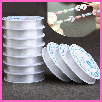 $ CDN6.56 • Buy Strong Crystal Elastic Beading Line Cord Thread String For DIY Bracelet Jewelry