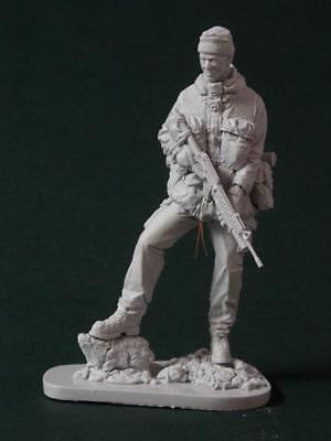 AC Models British SAS Soldier Falklands 1982 120mm Unpainted Resin Figure Kit • 43.99£
