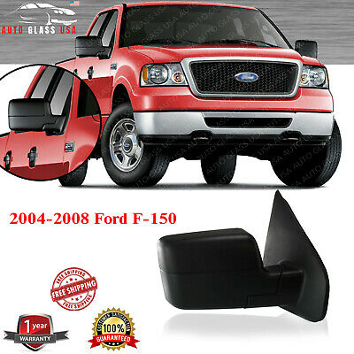 $50 • Buy NEW Power Passenger Side Mirror For 2004-2008 Ford F-150 Textured Manual Folding
