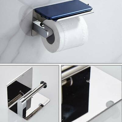 AU19.16 • Buy Toilet Paper Storage Roll Tissue Rack Tray Stainless Paper Stand Bracket WS