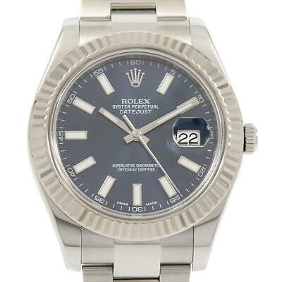 $ CDN10739.61 • Buy Authentic ROLEX 116334 Datejust II SSxWG Automatic  #260-002-965-2006