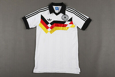 Germany Retro Replica 1988-1990 Home Football Shirt Jersey Adidas S • 39.99£