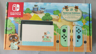 $ CDN1199.99 • Buy Nintendo Switch Console Animal Crossing Edition New In Box